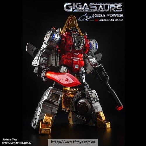 Gigapower (GP) HQ-02R Grassor (Chrome)
