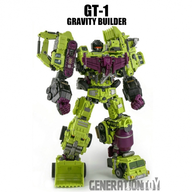 GenerationToy (GT) Gravity Builder (6 individual boxes)