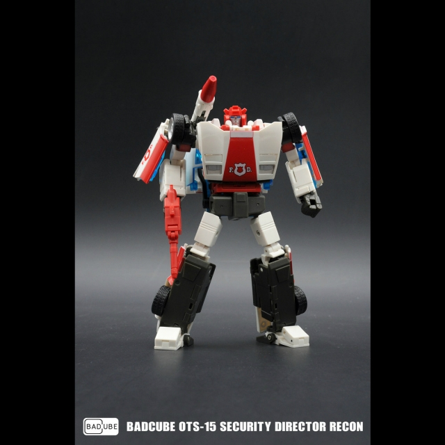 BadCube (BC) OTS-15 Security Director Recon