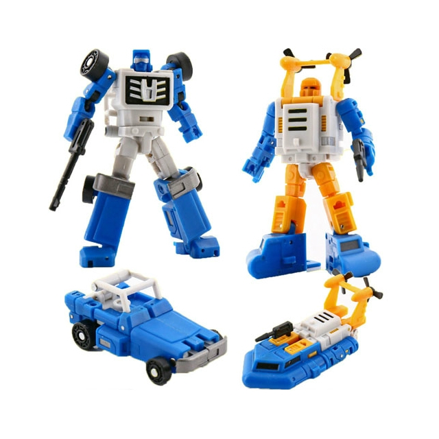 MagicSquareToys (MS-Toys) MS-B03/B05 Four Wheel Drive/Surfer (set)